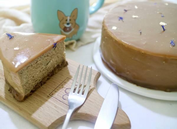 焦糖紅茶慕斯蛋糕 奶油先生,焦糖紅茶,慕斯蛋糕