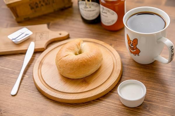 天然酵母手工貝果 原味5入 奶油先生,貝果,手工麵包