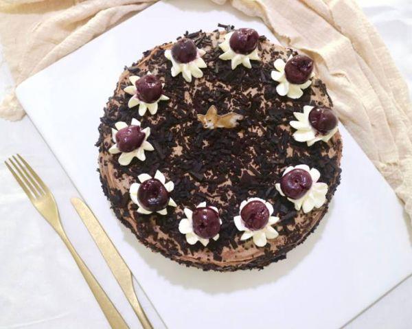 櫻桃巧克力千層  櫻桃巧克力千層,巧克力控,黑森林