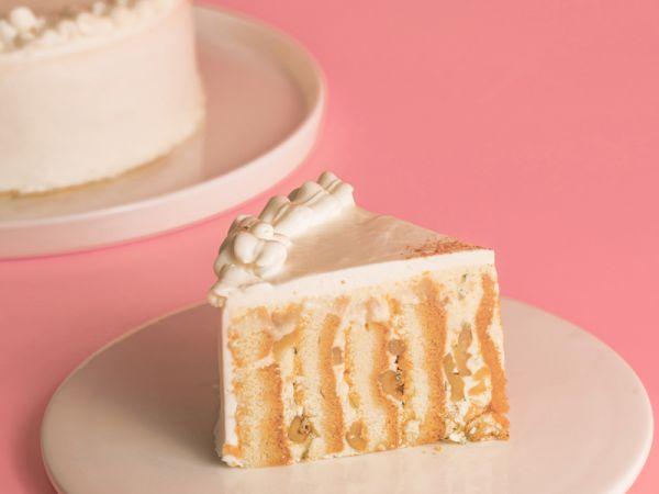 蜂蜜肉桂拿鐵戚風 黃金戚風,肉桂控,蜂蜜肉桂,母親節蛋糕