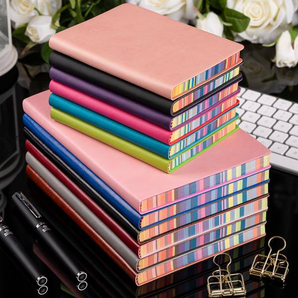 彩色書口筆記本