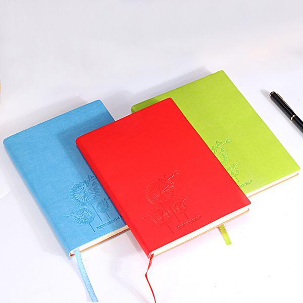 軟革封面筆記本