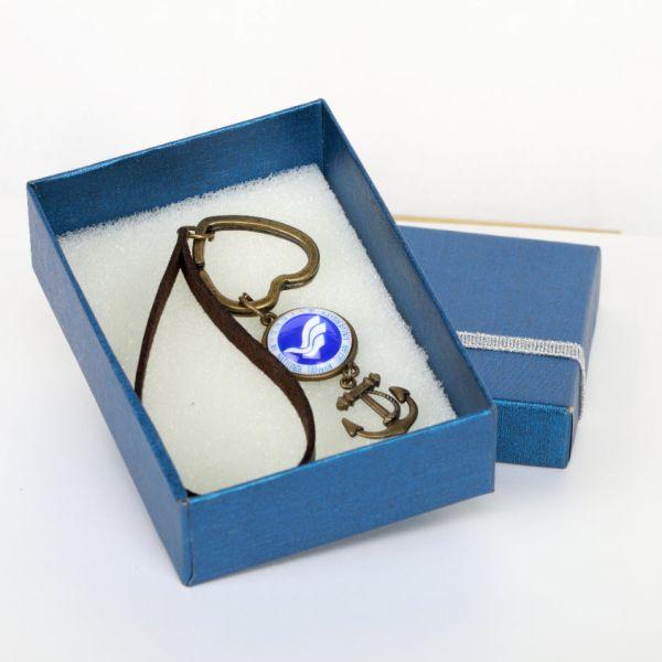 古銅LOGO鑰匙圈 古銅LOGO鑰匙圈