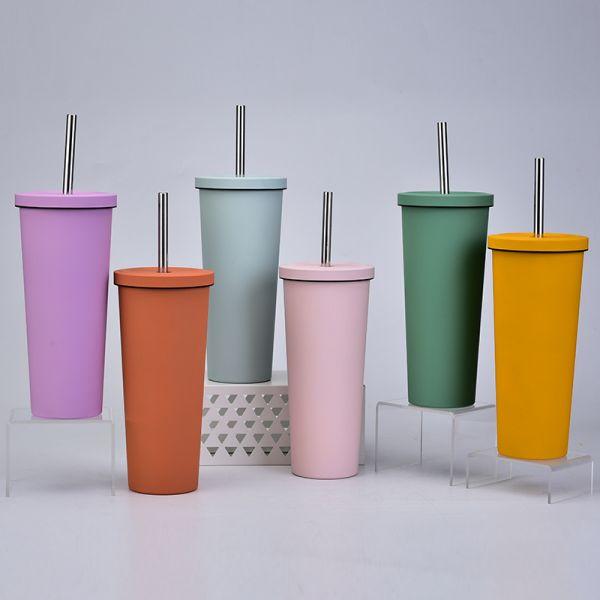 不鏽鋼吸管隨行杯