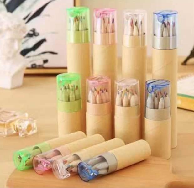 12色彩色鉛筆(含筆筒)