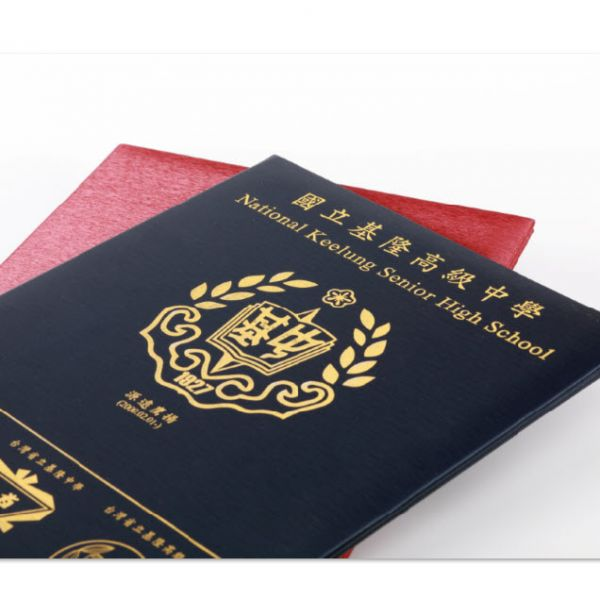 訂製皮革燙金證書夾 訂製皮革燙金證書夾