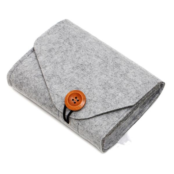 羊毛氈多功能鈕扣收納包