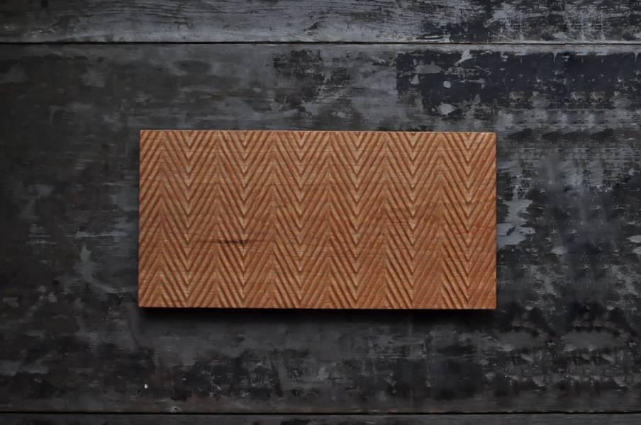 山型紋茶盤 / 平盤