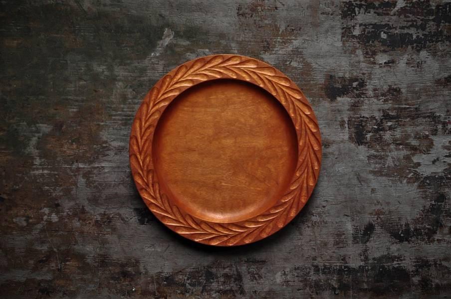 飛鳥紋圓盤  (大)
