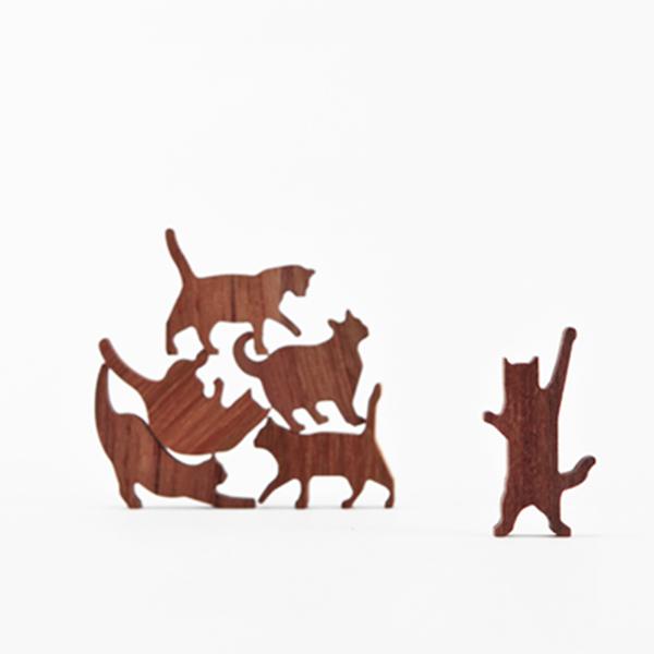 貓咪疊疊樂-粉紅款