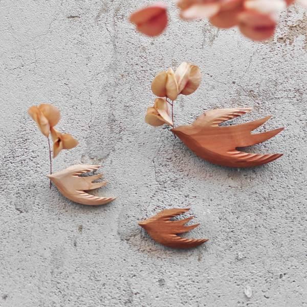 燕子 花器 / 磁鐵