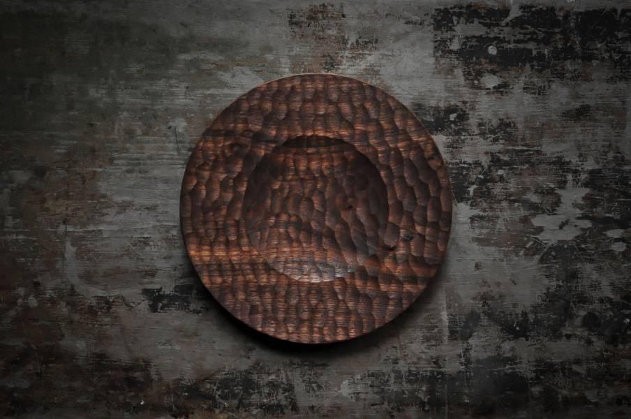 雙層圓盤 / 壺承