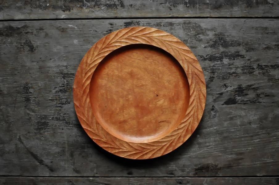 飛鳥紋木盤