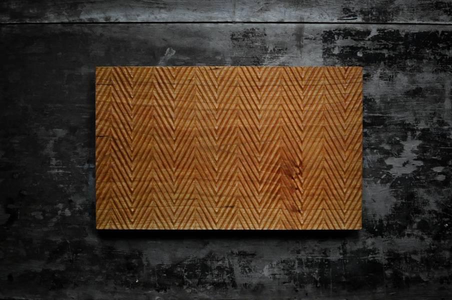 山型紋平盤 / 茶盤