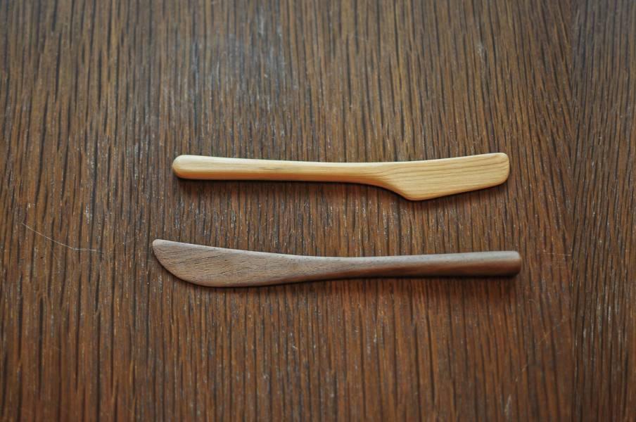 手刻習作・木刻抹刀