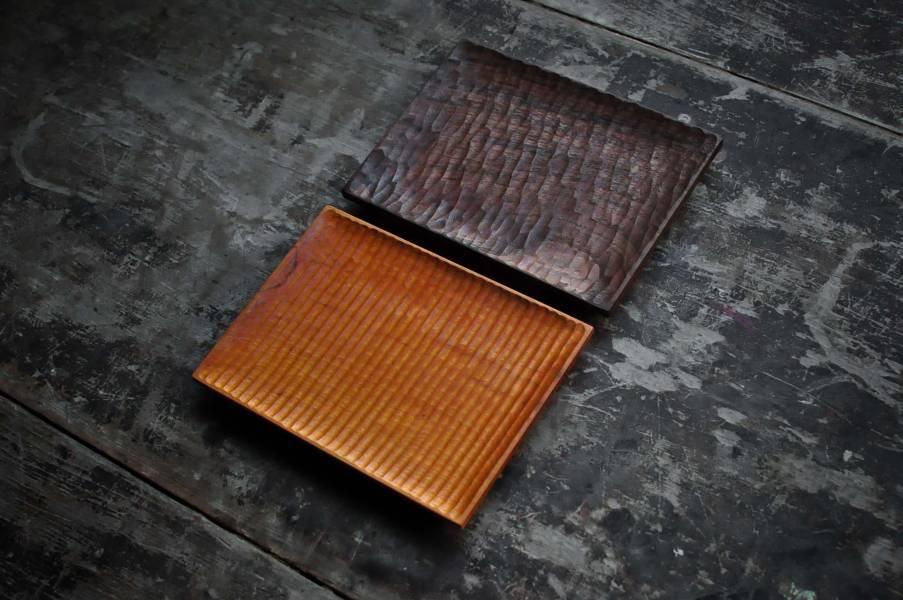 長方小木盤