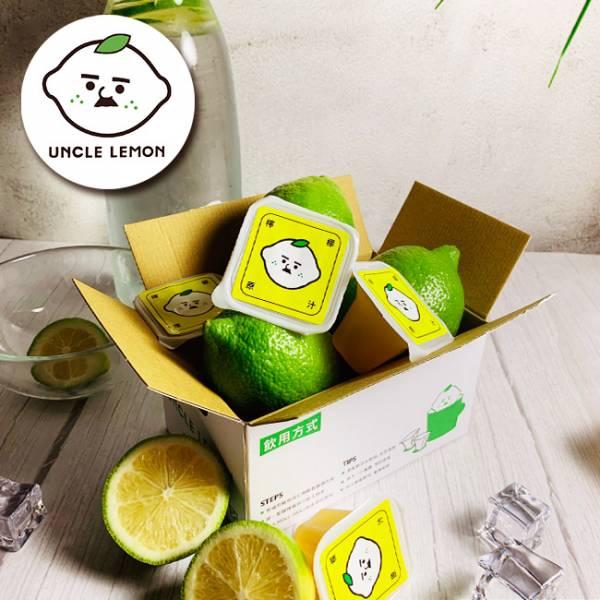 【檸檬大叔】純檸檬磚5盒共60入