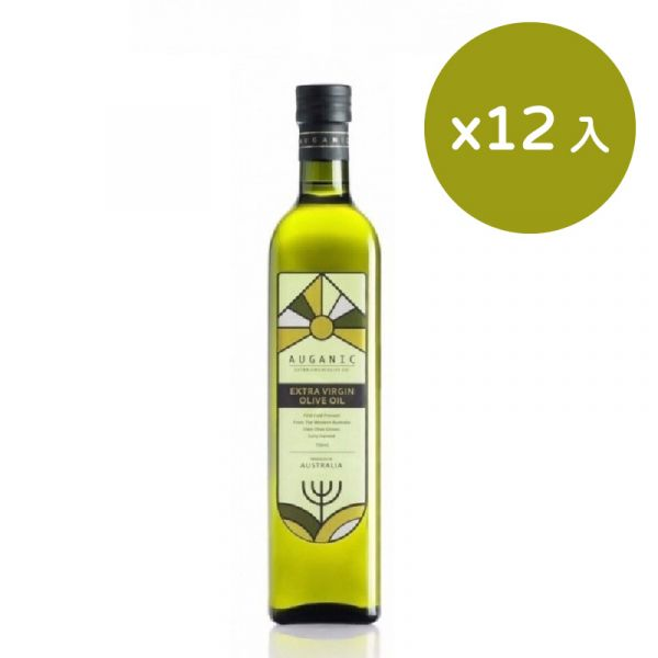 【澳根尼】特級冷壓初榨橄欖油12入(500ml)