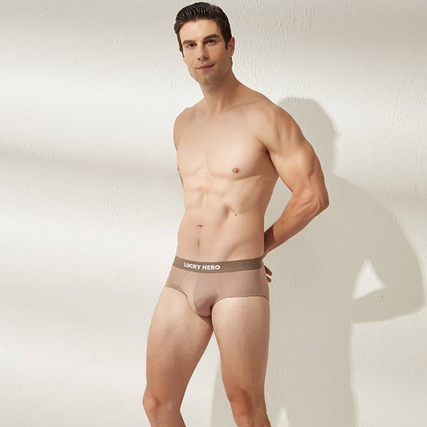 拼色男三角褲 可可/可可 超透氣,男士內褲,男性內褲,四角內褲,