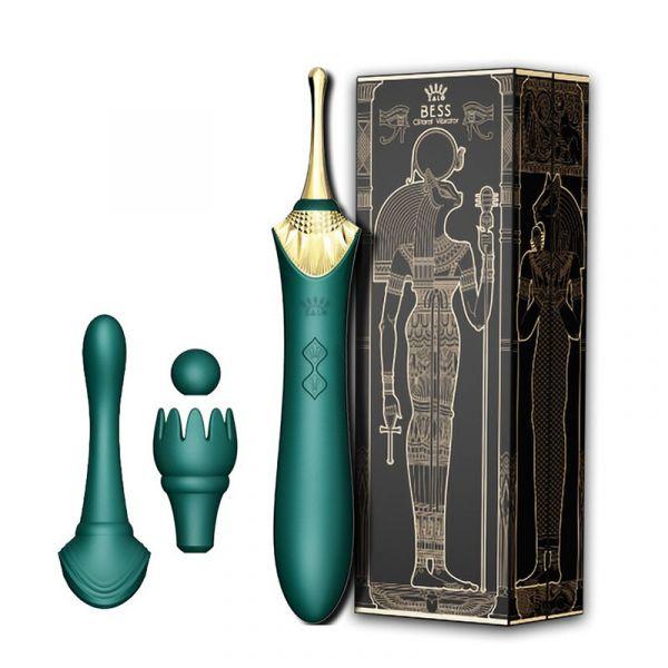 秒高潮陰蒂按摩器-綠色 zalo,bess按摩棒,秒潮棒,陰蒂按摩器,1310,情趣用品,兩夫妻,情趣生活
