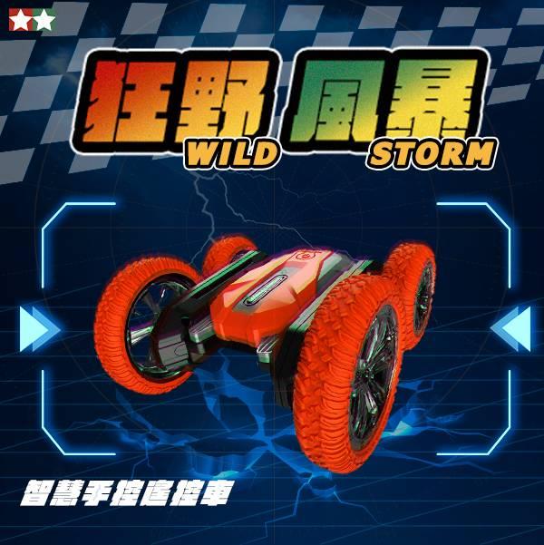 /限時九折/【Wildstorm】狂野暴風 智慧手控遙控車