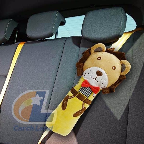 獅子安全帶抱枕-KA3302 #安全帶 #抱枕 #動物