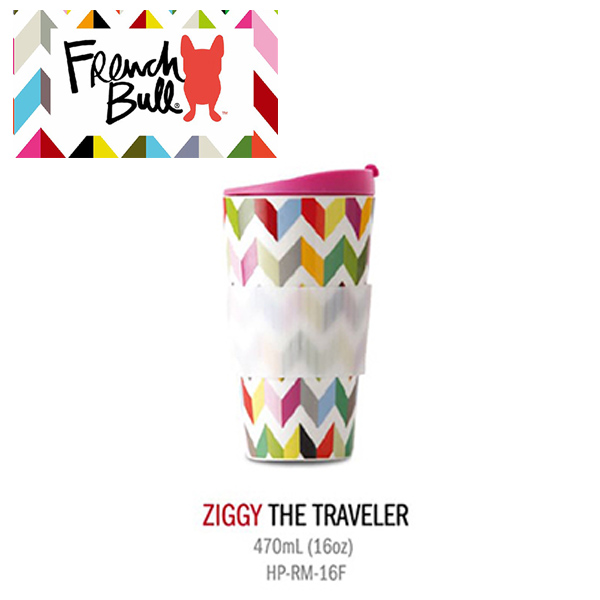 FRENCH BULL陶瓷隨行杯470ml (如遇缺貨,顏色隨機) FRENCH BULL 陶瓷隨行杯 470ml 隨行杯 環保杯  交換禮物首選
