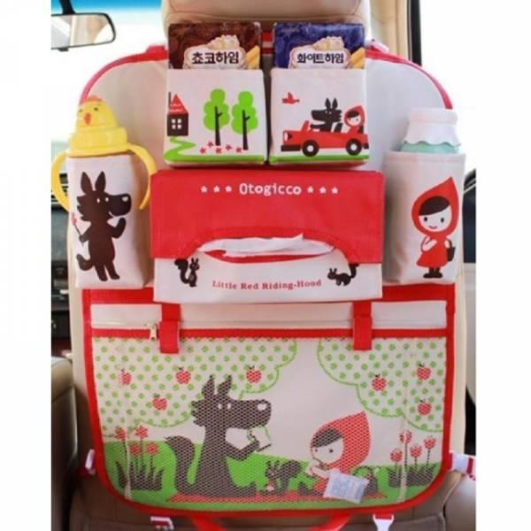 小紅帽/小蘋果 汽車椅背收納袋 收納袋 小紅帽/小蘋果 汽車椅背收納袋 收納袋