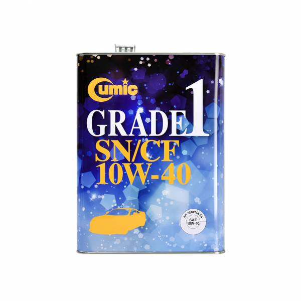 【Cumic】庫克機油 GRADE 1 SN CF 10W-40 Cumic 庫克機油 10W-40