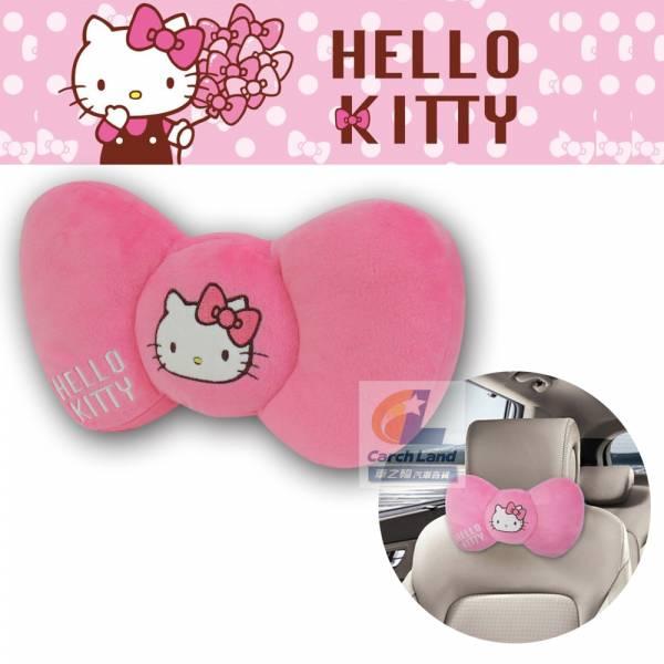 Hello Kitty 凱蒂貓 KT蝴蝶結系列-頭頸兩用枕 PKTD008W-05 Hello Kitty 凱蒂貓 KT蝴蝶結系列-頭頸兩用枕 PKTD008W-05