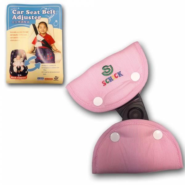 SCHICK 70802 粉紅色兒童安全帶調整器