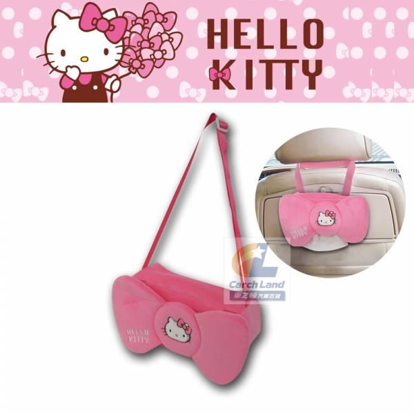 Hello Kitty 凱蒂貓 KT蝴蝶結系列-面紙盒掛袋 PKTD008W-04 Hello Kitty 凱蒂貓 KT蝴蝶結系列-面紙盒掛袋 PKTD008W-04