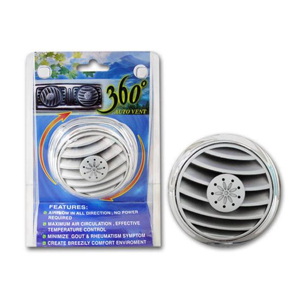 360度冷氣孔風向循環器 (汽車 散熱 風扇) 360度冷氣孔風向循環器 (汽車 散熱 風扇)