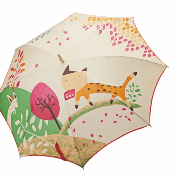 【Weather Me】無接縫一片自動傘-老鼠遇見貓 Weather Me 貓咪 一片傘 直傘