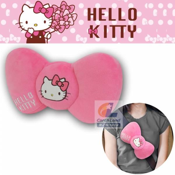 Hello Kitty 凱蒂貓 KT蝴蝶結系列- 安全帶護枕(大) PKTD008W-02 Hello Kitty 凱蒂貓 KT蝴蝶結系列- 安全帶護枕(大) PKTD008W-02