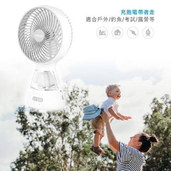 CF-900 8吋充電式照明風扇 CF-900 8吋充電式照明風扇/隨身風扇/露營風扇