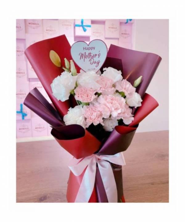 【鮮花花束】最愛媽咪 康乃馨花束,巨型花束,求婚花束,告白花束,母親節花束