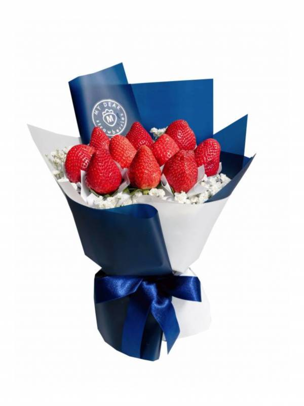 Je t'aime法式草莓花束小型 草莓花束