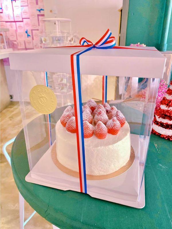 7吋經典草莓蛋糕