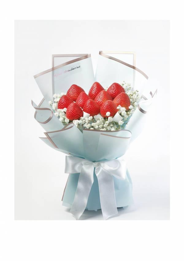 【生日入門款】Happy Birthday生日草莓花束 草莓花束