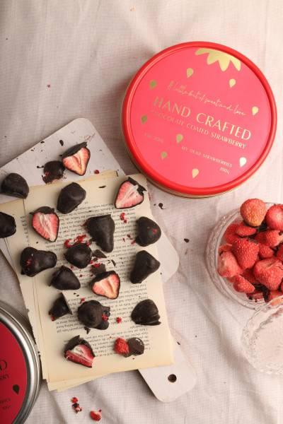草莓巧克力 草莓巧克力