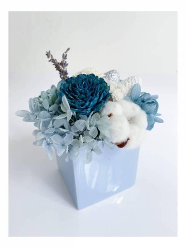 【永恆花】日耳曼大道 永生盆花,永生玫瑰