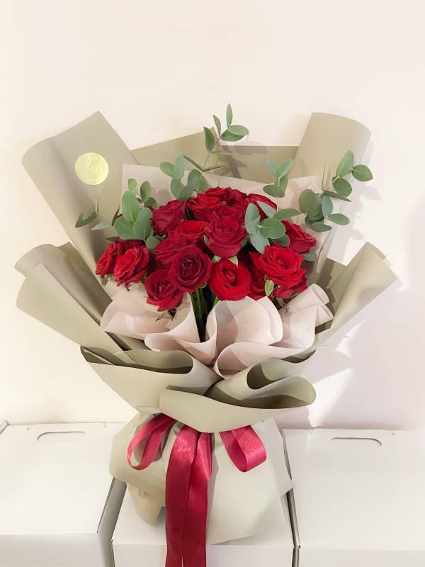 520玫瑰鮮花束(30朵) 玫瑰花束,巨型花束,求婚花束,告白花束
