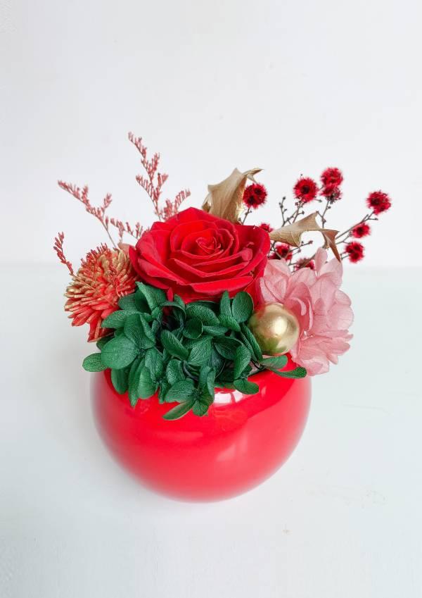 【永恆花】皇家宮殿花園 永生盆花,永生玫瑰