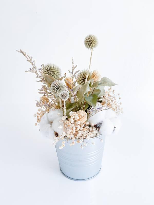 維也納森林乾燥盆花 乾燥花禮,乾燥盆花