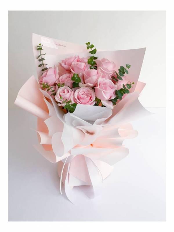 【鮮花花束宅配免運】歐仁妮皇后 生日花束,告白花束,鮮花花束