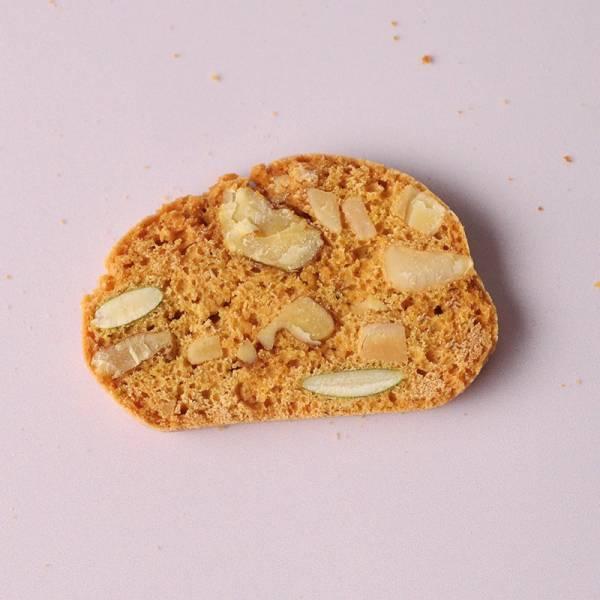 堅果仁脆餅 (無油.含蛋) 曲奇餅,蝴蝶酥,蝴蝶餅,甜點,手工餅乾,彌月,喜餅,伴手禮,團購,無油餅乾