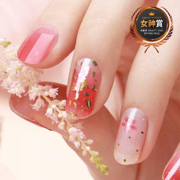 【ZINIPIN】粉紅櫻花指甲貼