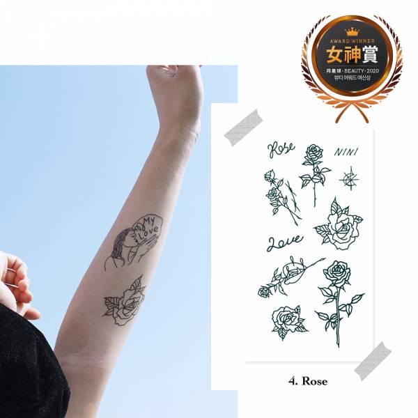 【TATTIST】我愛TATTOO韓國原創刺青貼紙 (PRO)  拜託了女神,女神賞,月星球,dalnara,TATTIST,刺青貼紙,紋身貼紙