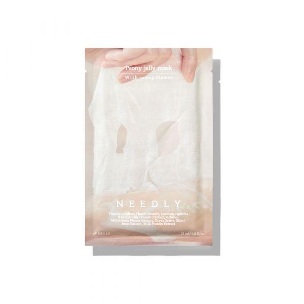 【NEEDLY】牡丹精華提亮果凍面膜(單片)